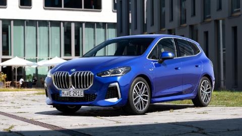 Blue BMW 2 Series Active Tourer Static Exterior