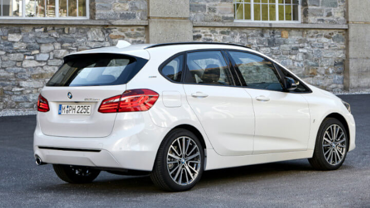 BMW 2 Series Plug-in Hybrid Rear