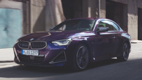 BMW 2 Series Coupe Driving