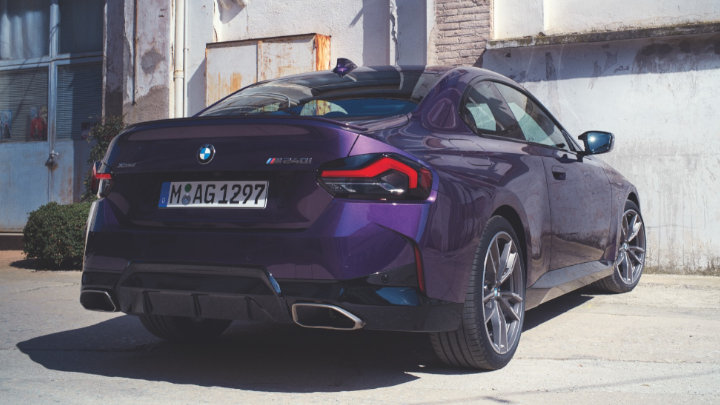 BMW 2 Series Coupe, Exterior, Rear