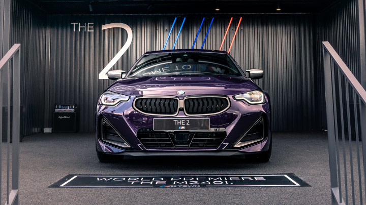 BMW 2 Series Coupe, Front