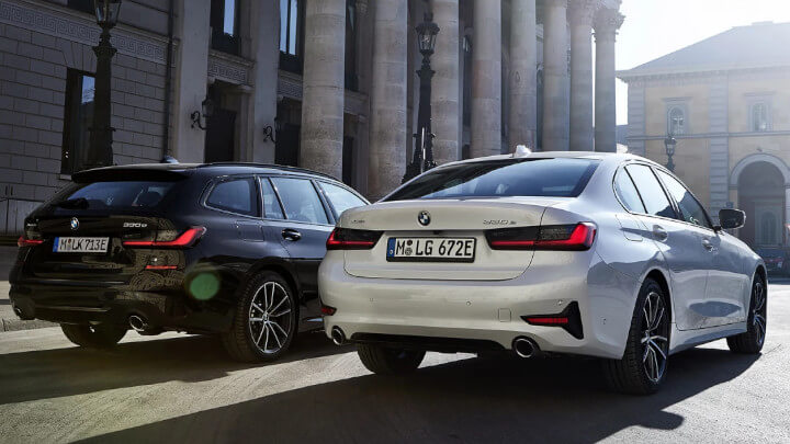 BMW 3 Series Saloon and Touring Plug-in Hybrid