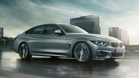 BMW 4 Series Gran Coupe Driving