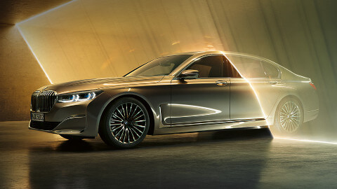 BMW 7 Series Side Profile