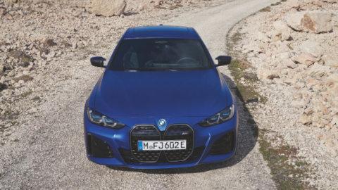 BMW i4 Exterior, Front