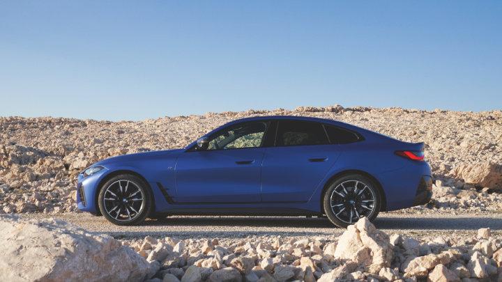 BMW i4, Exterior, Side