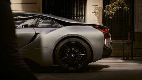 BMW i8 Side, Rear