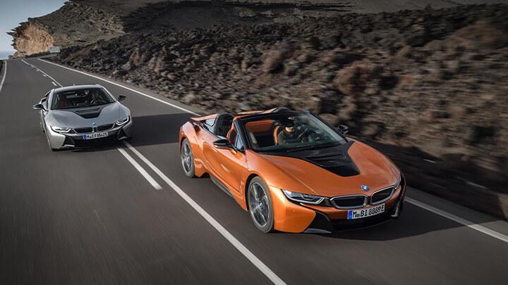 BMW i8 Range