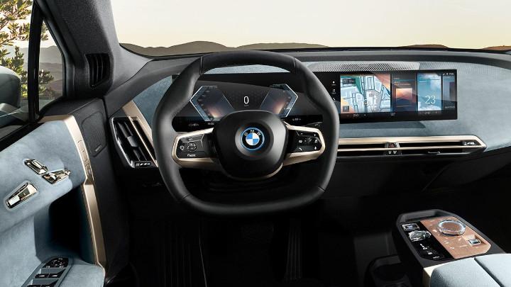 BMW iX Interior