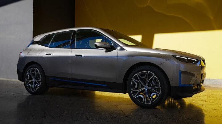 BMW iX Side Profile