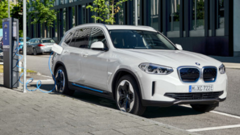 BMW IX3 Charging Thumbnail