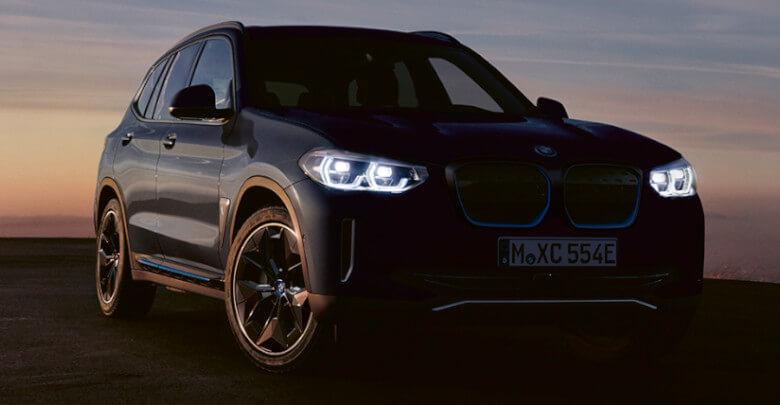 BMW iX3 Front Main