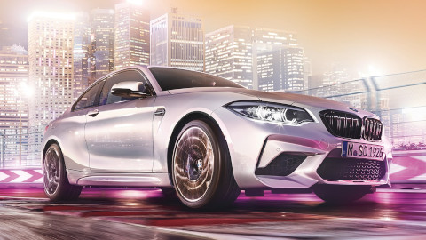 BMW M2 Competition Driving