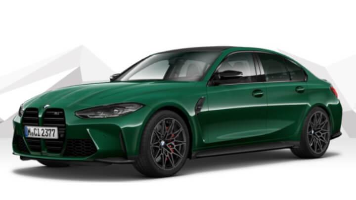 BMW M3 Competition Spec