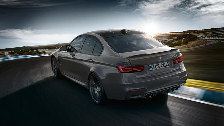 BMW M3 Rear, Driving