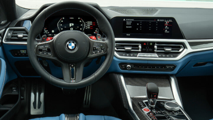 BMW M4 Competition Interior
