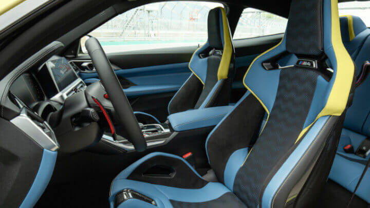 BMW M4 Competition Seats