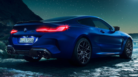 BMW M8 Competition Exterior, Rear
