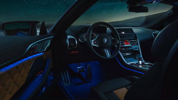 BMW M8 Competition Interior