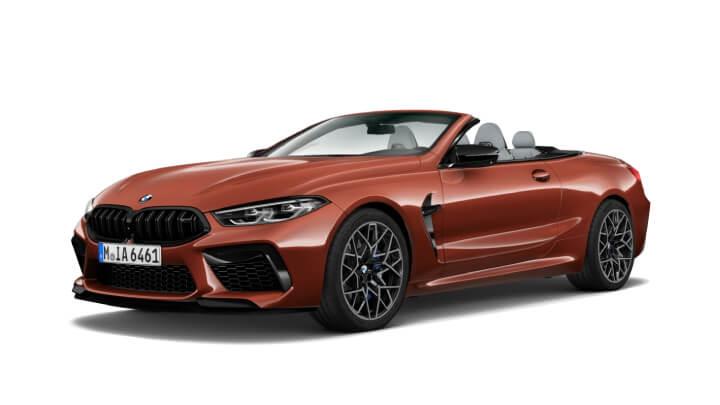 BMW M8 Comp Convertible Spec