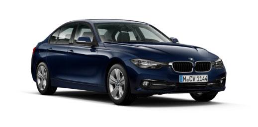 Blue BMW 3 Series