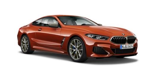 Orange BMW 8 Series