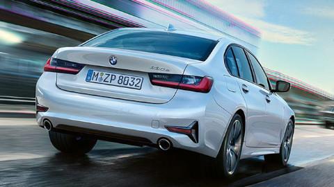 BMW 3 Series Saloon Plug-in Hybrid Rear