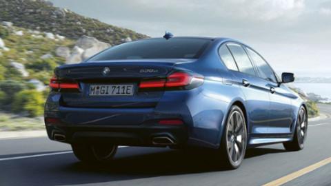 BMW 5 Series Saloon PHEV Rear