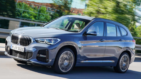 BMW X1 Plug-in Hybrid Front Driving