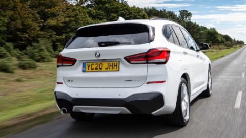 BMW X1 Plug-in Hybrid Rear