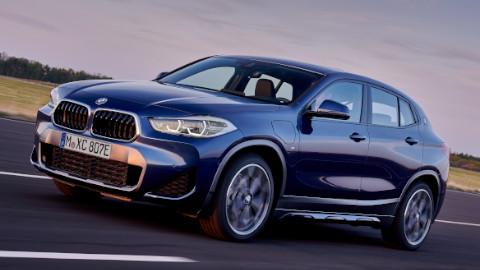 BMW X2 Plug-in Hybrid Driving