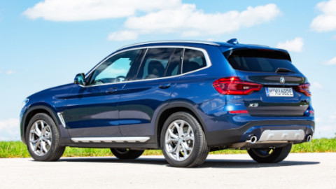 BMW X3 Plug-in Hybrid Rear