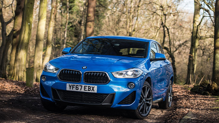BMW X2 Exeterior, Front
