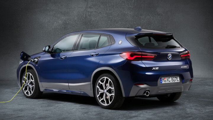 BMW X2 Plug-in Hybrid Charging