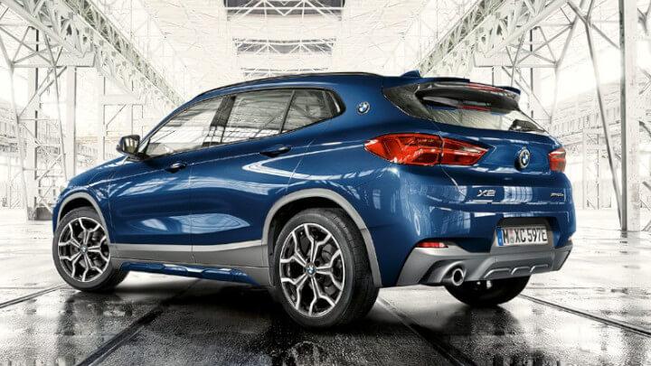 BMW X2 Plug-in Hybrid Rear