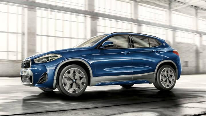 BMW X2 Plug-in Hybrid Side