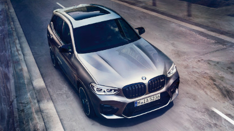 BMW X3 M Competition Exterior, Driving, Front