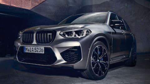 BMW X3 M Competition Exterior, Front