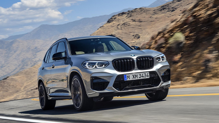 BMW X3 M Competition, Exterior, Front, Driving