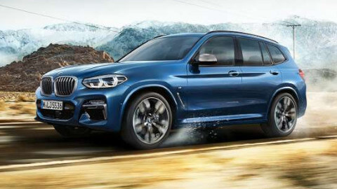 BMW X3 Driving