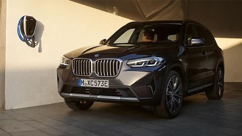 BMW X3, charging via i Wallbox