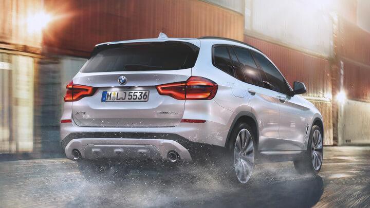 BMW X3 Plug-in Hybrid Rear