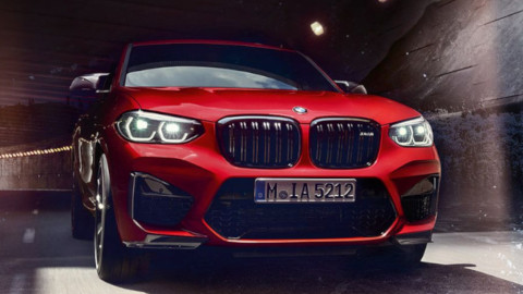 BMW X4 M Competition Exterior, Front