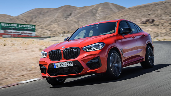 BMW X4 M Competition Exterior Front