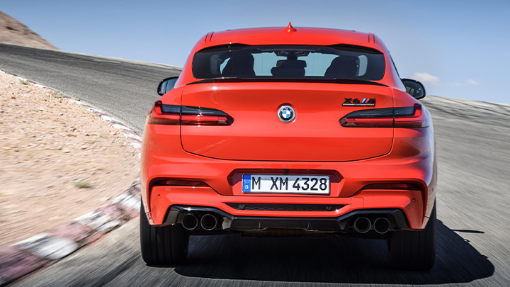 BMW X4 M Competition Exterior, Rear