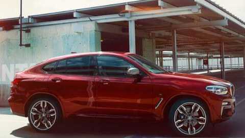 BMW X4 Side Profile