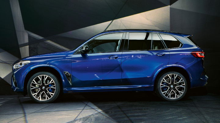 BMW X5 M Competition Side Profile