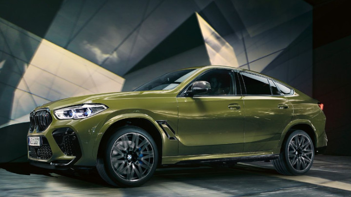 BMW X6 M Competition, Exterior