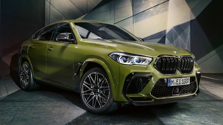BMW X6 M Competition, Exterior Front