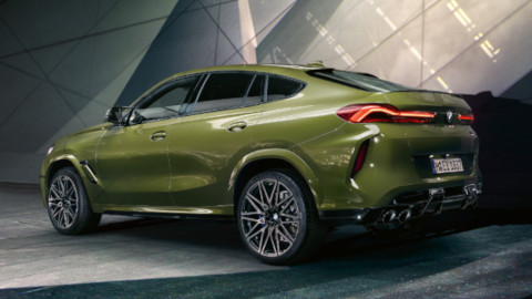 BMW X6 M Competition Exterior, Rear